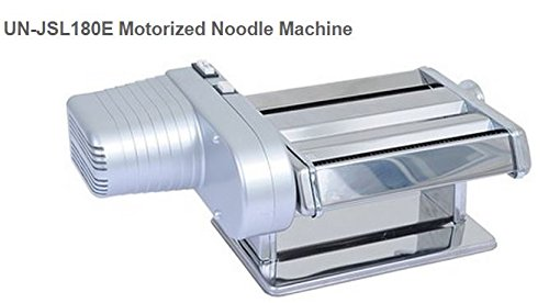 Uniworld Stainless Steel Motorized Noodle Machine 22 lbs/hr output Model No. UN-JSL180E by Uniworld