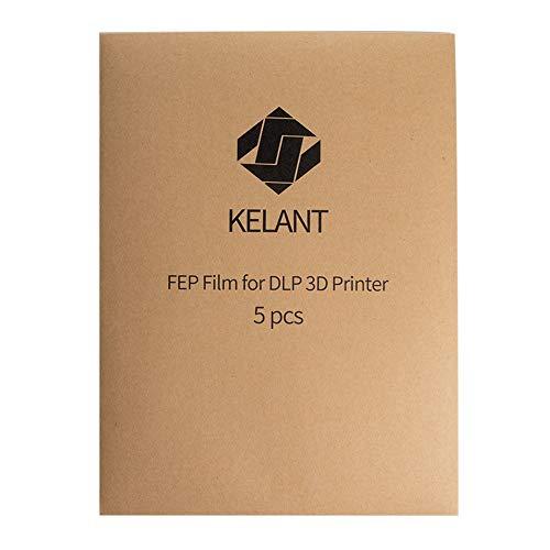 KELANT FEP Film for DLP S400 Printer Teflon Film 0.15mm High Transmittance Strength (310 x 230 x 0.15mm)