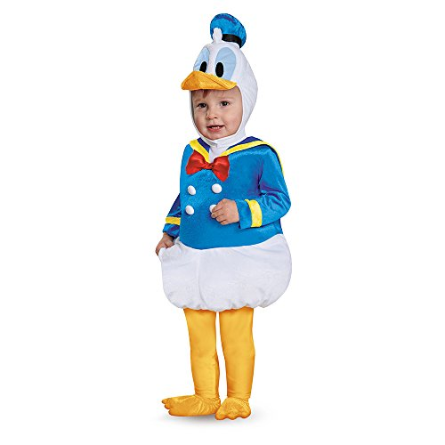 Disney Halloween Costumes For Boys (Disguise Baby Boys' Donald Duck Prestige Infant Costume, Blue, 12-18 Months)