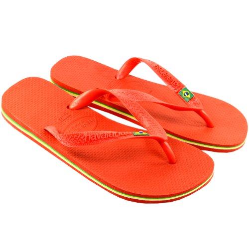Tongs Blanc Femmes Brasil Havaianas Sandalees wznZ1aq01