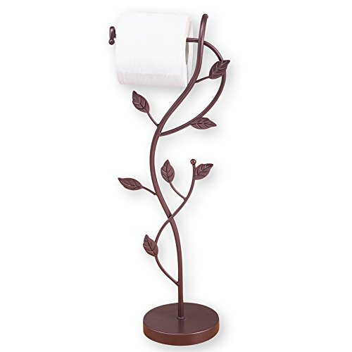Elegant Leaf Toilet Paper Holder (Leaf Toilet Tissue Holder)