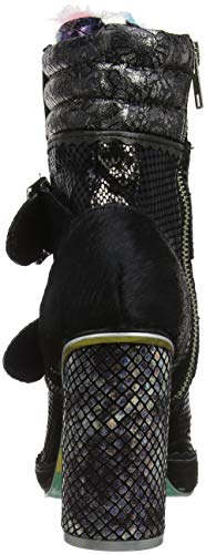 Femme Ur Black Noir Uncle Bobs Bottines C Irregular Choice wq404X