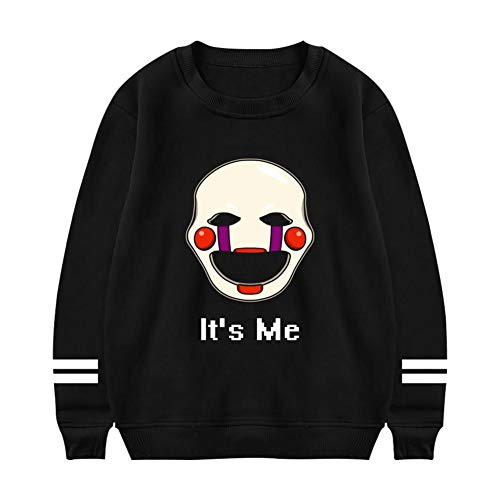 riverccc6.1500 FNAF It's Me Celebrate Let's Party Men's Sweatshirts Pullover Sweater
