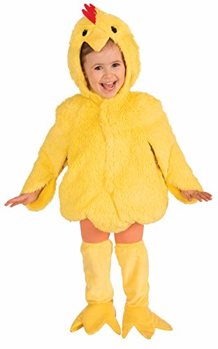 Forum Novelties Plush Cuddlee Lovable Chicken Costume, Toddler Size -