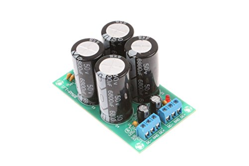 25A Dual Power Rectifier Board Power Board AC 0-30V/DC0-50V Rectifying Flat Bridge Suitable for TDA7294 TDA7293 LM3886 Amplifier Dedicated Power Board
