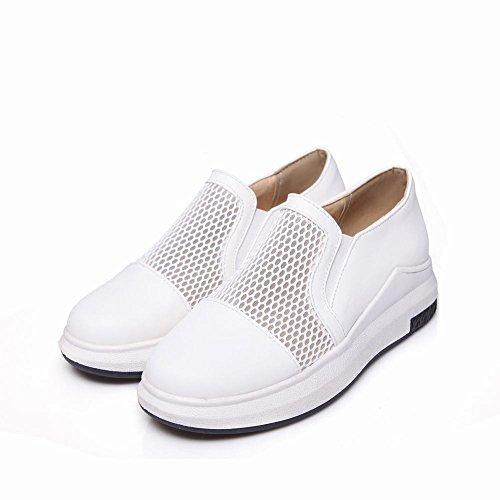 Maglia Da Donna Latasa Slip On All Seasons Flats Shoes White