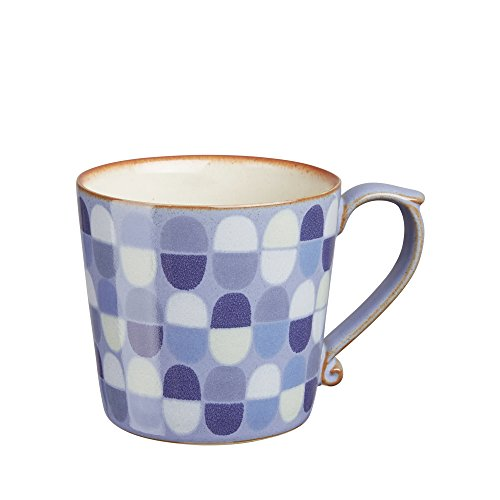 Denby FNT-112D Fountain Accent Large Mug, Multicolor, (Denby Patterns)