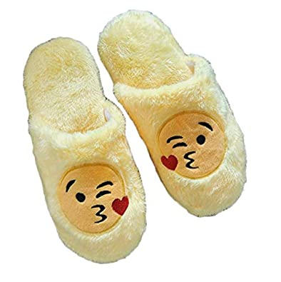 2019 Fashion Children Slippers Fashion Winter Warm Kids Expression Slippers Cotton Face Section Cool Style Flip Flop Shoes Slippers