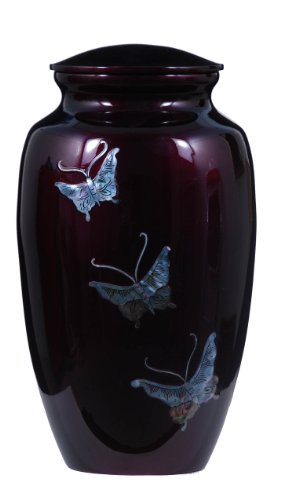 - UrnsDirect2U Butterfly Tranquility Adult Urn