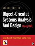 img - for Object-oriented Systems Analysis and Design Using UML 2/e by Simon J. Bennett (2001-12-01) book / textbook / text book