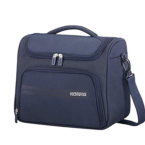 American Tourister Summer Voyager Beauty Case, 32 cm, 15 Liters, Midnight Blue