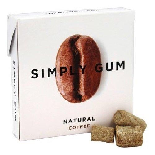 Simplygum Gum Coffee Natural, 15 ct