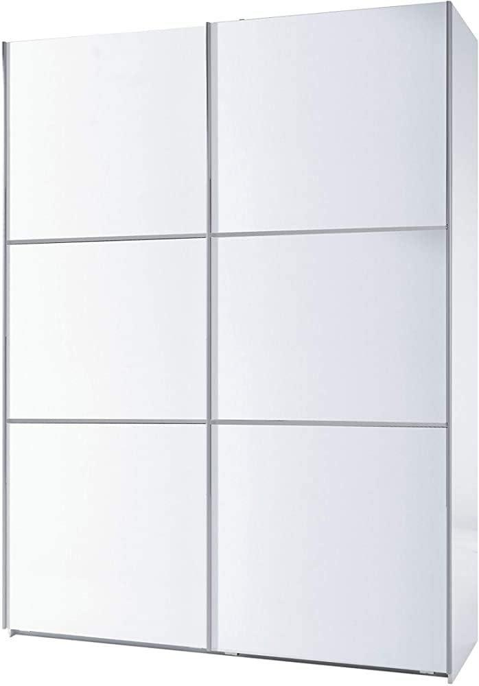 Bedroom Wardrobe for The Bedroom Room,150CM with Two Sliding Doors Wardrobe