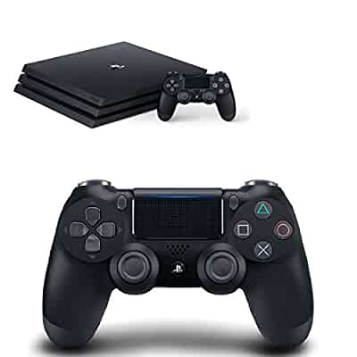 Amazon.com: PlayStation 4 Pro 1TB Console + Extra Controller Bundle: Video Games