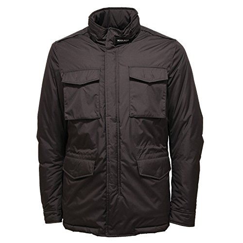 Jacket Turer Giubbotto Field Scuro Giacca Woolrich 0419v Men Uomo Grigio qRwW7Y