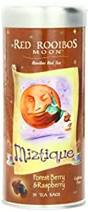 Funfresh Foods Red Rooibos Moon Bags,Forest Berry & Raspberry 35 Tea Bags