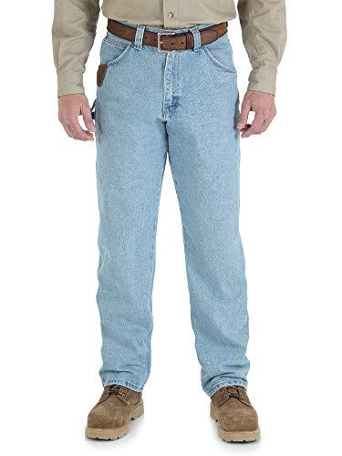 Riggs Workwear By Wrangler Men's Work Horse Jean,Vintage Indigo,42W x - Fit Horse