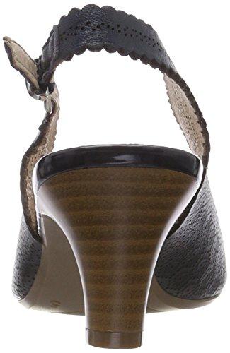 Caprice Blue Sandals Women's Nappa Ocean Back Sling 855 29601 1qAzw1P