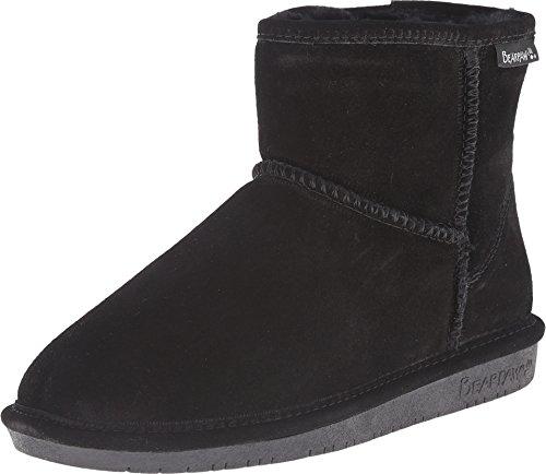 BEARPAW Women's Demi Winter Boot, Black, 9 M US