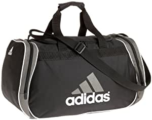 Amazon.com: adidas Diablo Medium Duffle,Black/Storm Grey,one ...