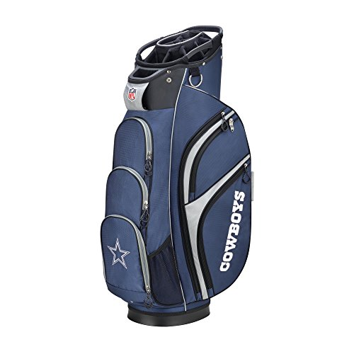 Wilson 2018 NFL Golf Cart Bag, Dallas Cowboys (Wilson Golf Club)