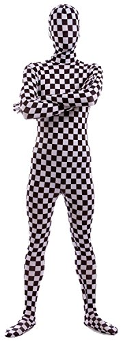 VSVO Second Skin Zentai Full Body Costume (Small, -