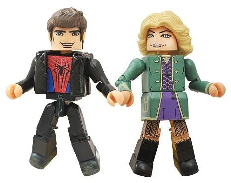 Marvel Minimates Series 56 Amazing Spider-Man 2 Movie Peter Parker /& Gwen Stacy