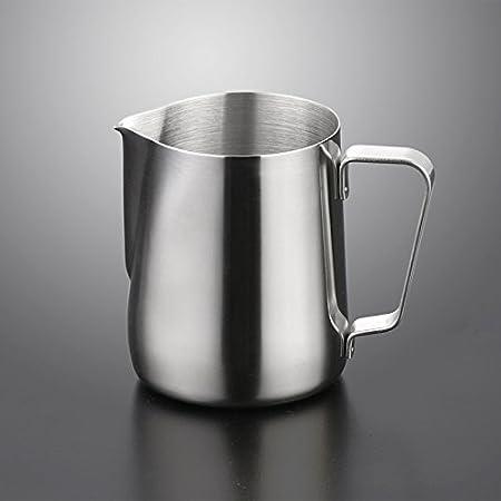 Kentop Stainless Steel Creamer//Milk Jug Art Frothing Jug Milk Pitcher 1000ml