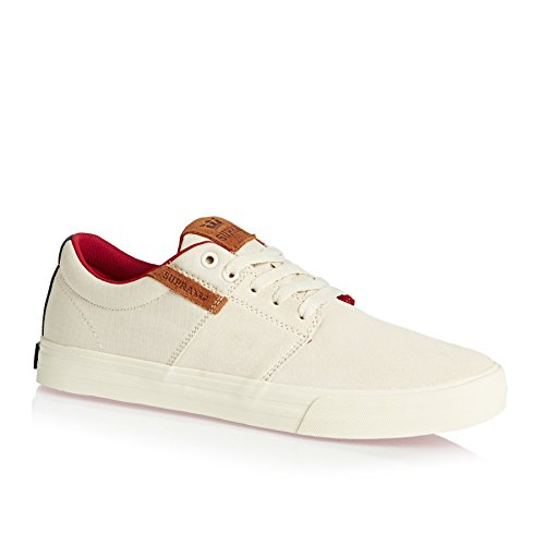 Supra Skate Shoes - Supra Stacks Vulc II Shoes - Off White