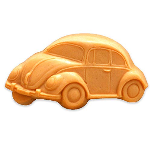 Milky Way VW Bug Guest Soap Mold Tray - Melt and Pour - Cold Process - Clear PVC - Not Silicone - MW 170