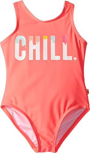 Kate Spade New York Kids Baby Girl's Chill One-Piece (Toddler/Little Kids) Surprise Coral 5