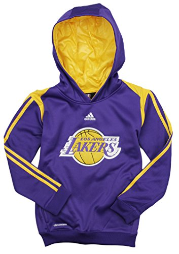 Court Womens Sweatshirt - Los Angeles Lakers NBA Big Boys On Court Hoodie - Purple (Medium (10/12))