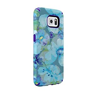 Speck CandyShell Inked para Samsung Galaxy S6 Floral Blue/Purple