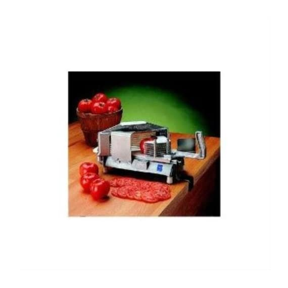 "Nemco Easy Tomato Slicer 1 Material: aluminum 1/4"" slice thickness Compact size"