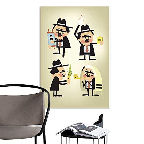 UHOO Canvas Wall Art Painting Jewish Holiday.jpg Nature Canvas Artwork Home Office Wall 20