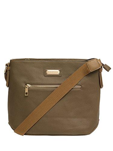crossbody Tan handbag Webbing Womens Contrast Kangol qSWxwZ1Rct
