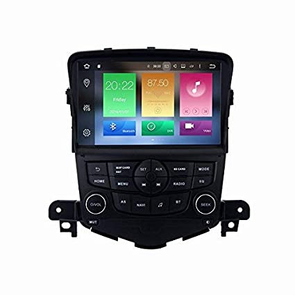 SYGAV Android 6 0 Car Stereo Octa Core 2G RAM for Chevrolet Cruze 2009-2014  Radio 8 inch in-Dash GPS Sat Navigation Head Unit