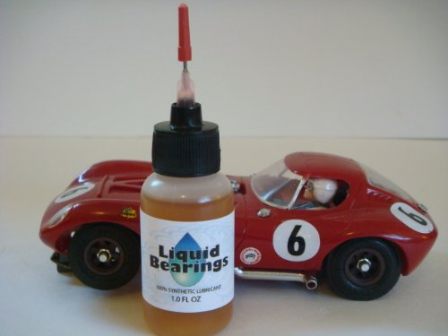 %-synthetic oil for all slot cars, makes cars faster!! (Scale Slot Car Parts Controller)