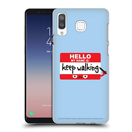 Official David Olenick Red Badge of Discourage Objects Hard Back Case Compatible for Samsung Galaxy A8 Star/A9 Star