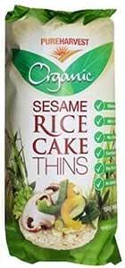 Pureharvest Organic Thins Sesame Rice Cake, 150 g