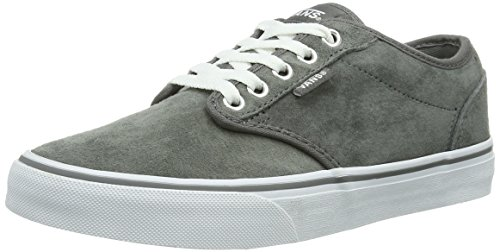 weather white Suede Gris Vans Mode Baskets W Pewter Femme Atwood fRYzYqw0