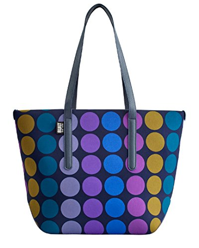 Built NY 5180749 City Carryall Tote Bag, One Size, Plum Dot