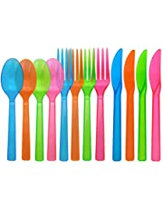 Party Essentials Hard Plastic Cutlery Combo Pack