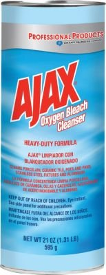 Ajax Oxygen Bleach Powder Cleanser, 21 oz., Pack of 3 - Ajax Cleanser Bleach Oxygen