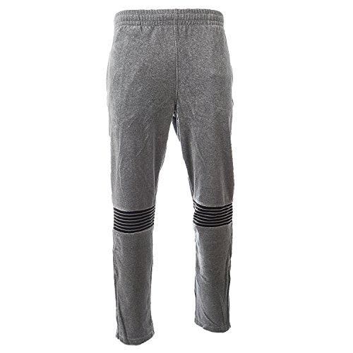 Fila Men's Marcus Track Pants, Varsity Heather, Black, Silver Dollar, L (Mens Fila Sport Fleece 2-0 Jogger Pants)