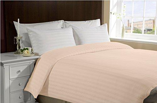 300 TC 100% Cotton Duvet Cover- Queen / Full- Peach