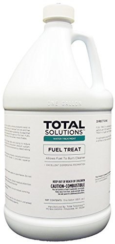 Fuel Treat, Allows fuel to burn cleaner - 4 Gallons by EcoClean Solutions