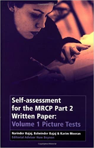 Book Self-Assessment for the MRCP Part 2 Written Paper: Picture Tests v. 1: Picture Tests Vol 1 by Narinder Bajaj (2001-12-27)