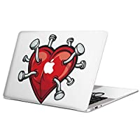 igsticker Ultra Thin Premium Protective Body Stickers Skins Universal Decal Cover for MacBook air 2008-2017(Model A1369/A1466) 000181