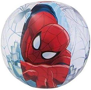 JOVAL® -Pack Piscina refrescante Infantil Superheroes Marvel de 90x30 centímetros de diámetro, con Manguitos y Pelota incluidos. del Personaje Spiderman para Jardin terraza o casa: Amazon.es: Jardín